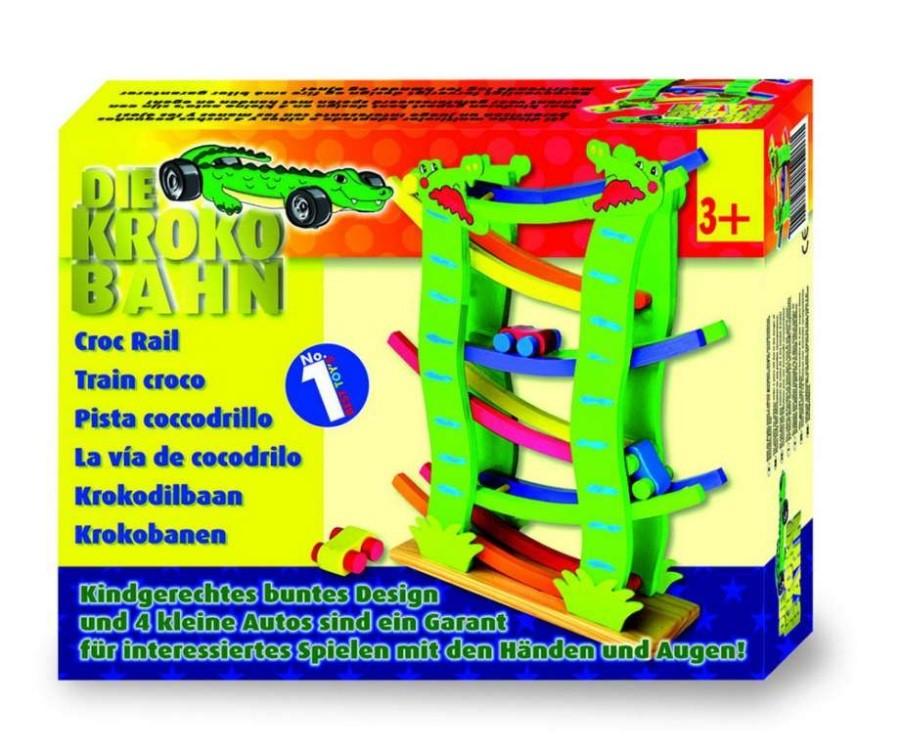Dřevěná dráha Krokodýl