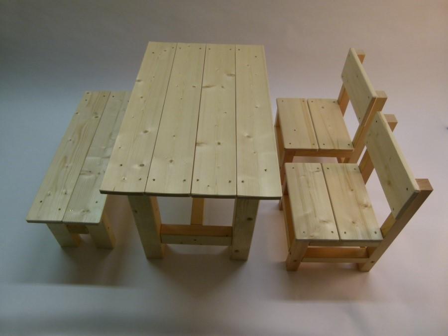 Dětský dřevěný stůl Herold