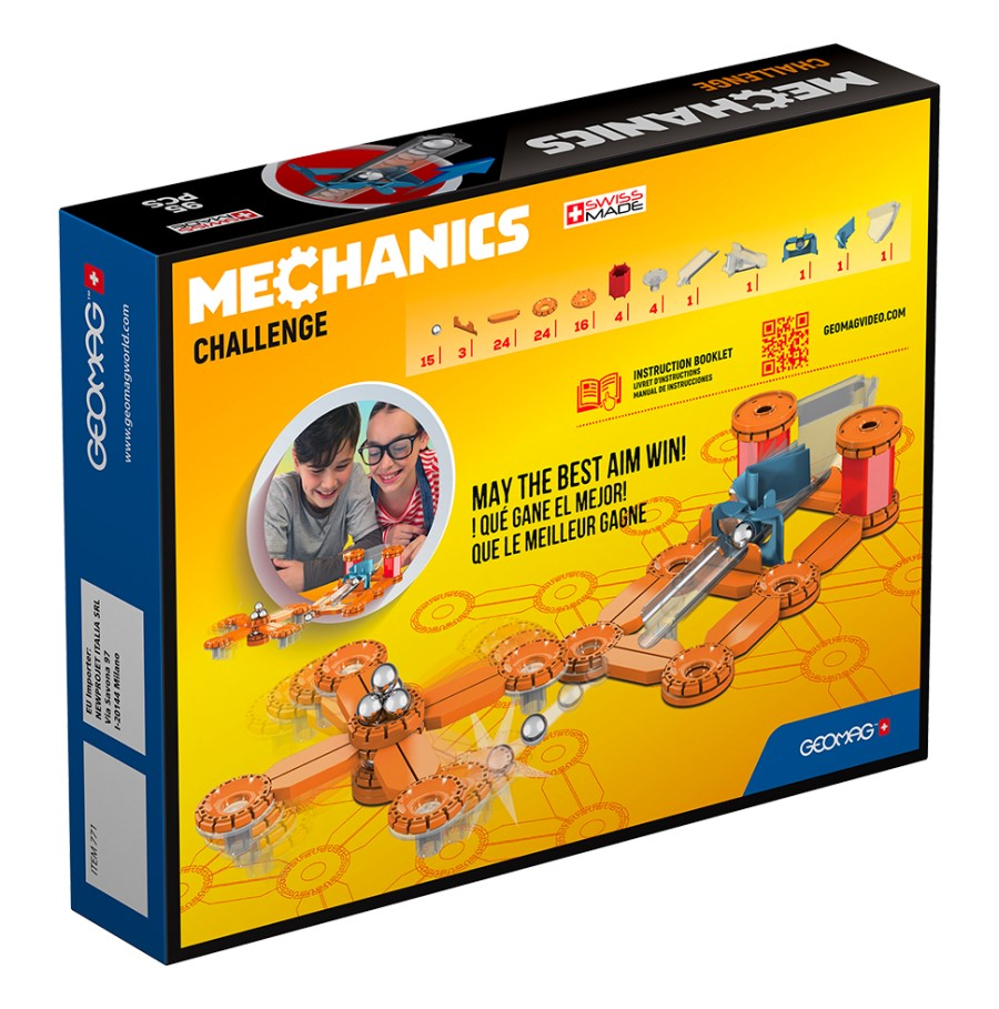 Geomag Mechanics Challenge 95ks