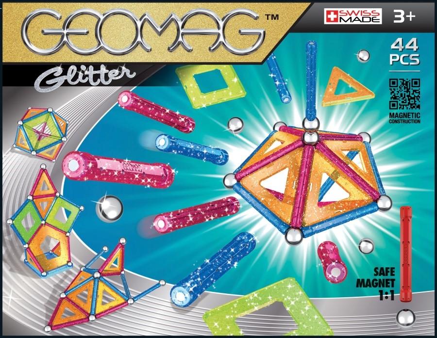 Geomag Glitter 44ks