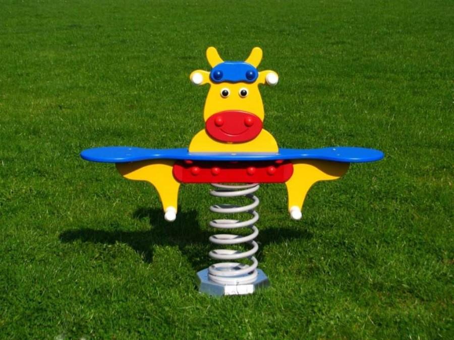 Monkey´s pružinová houpačka kravička