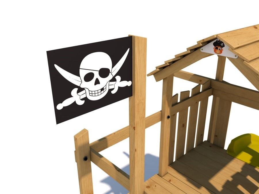Dětské hřiště Monkey´s Home Velký pirát JOLLY