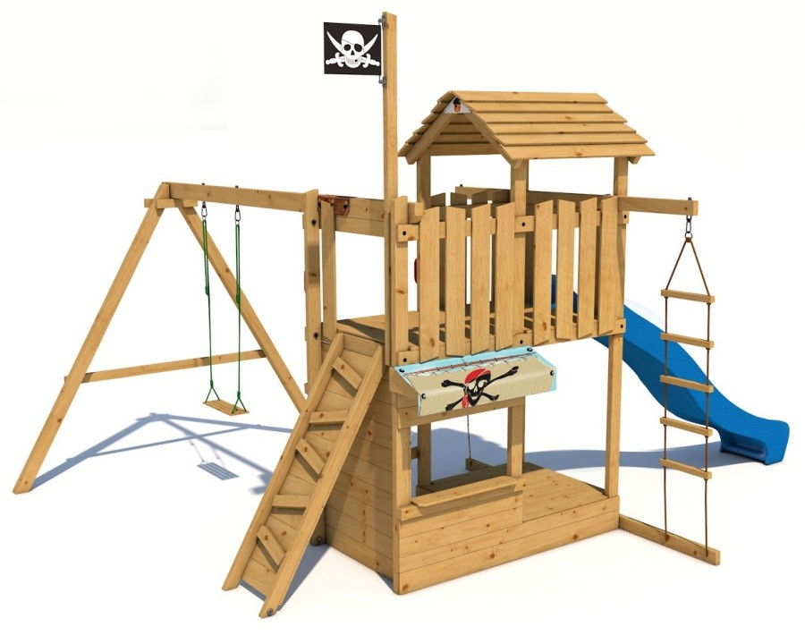 Dětské hřiště Monkey´s Home Velký pirát MISS