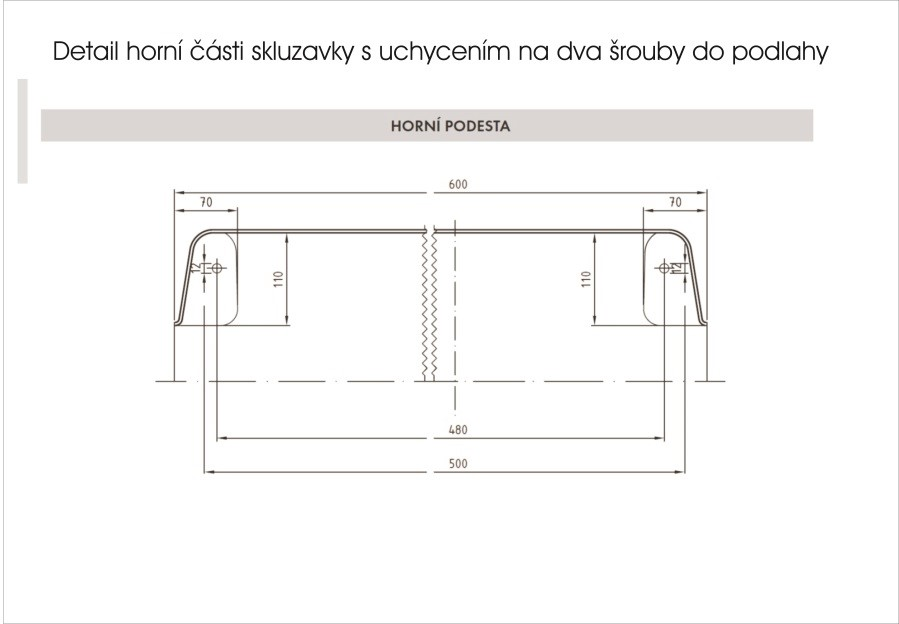 Monkeys Skluzavka laminátová 4,6m