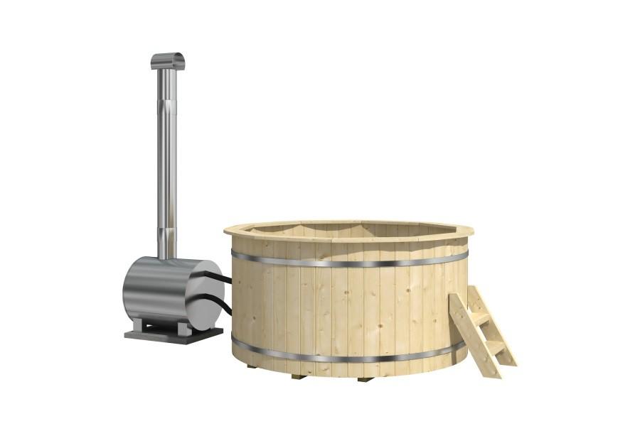 Hot Tub 160 thermowood koupací sud s venkovními kamny