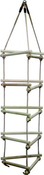 Žebříky, lezecí sítě a kovové příčky