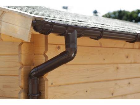 Okap pro plochou střechu 4000 mm-2 sady