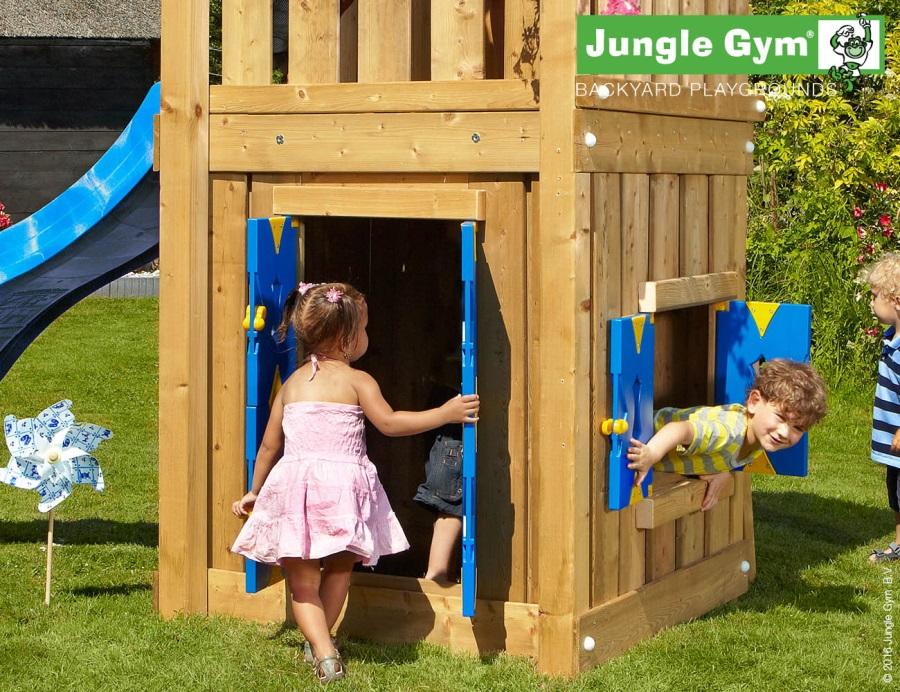 PŘÍSTAVEK K HRACÍ SESTAVĚ Jungle Gym Playhouse pro hřiště House, Hut, Home, Casa