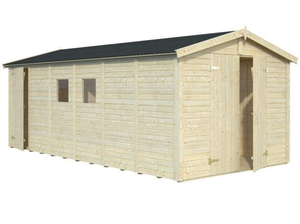 Zahradní domek DAN 14,2 m2 (7,1 + 7,1 m2)