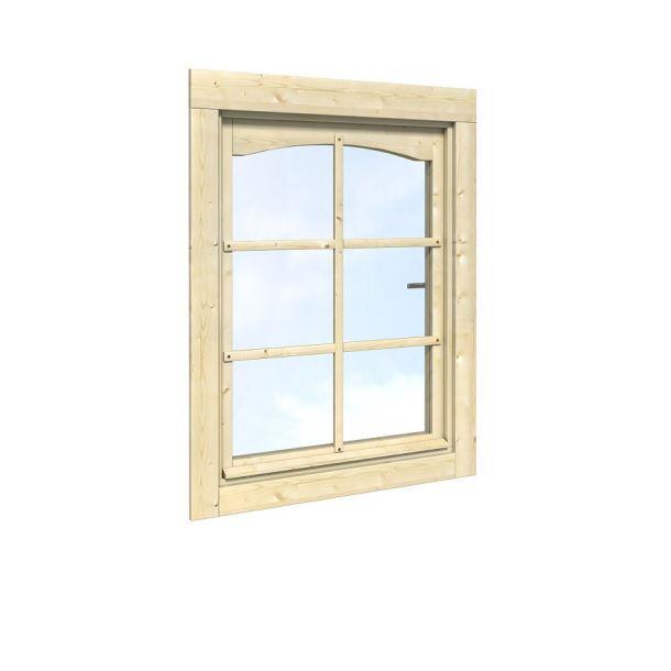 Okno k zahradnímu domku síla stěny 28 mm