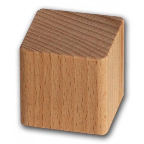 Dřevěná kostka 33x33x33mm