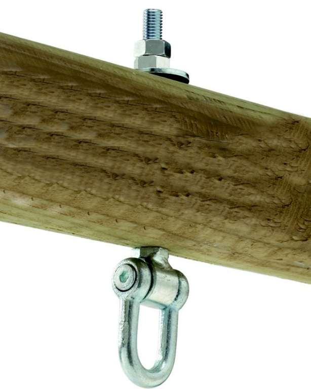 Houpačkový hák typ D 140mm, M12