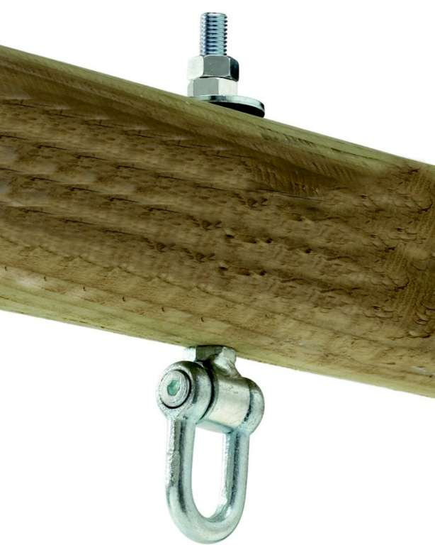 Houpačkový hák typ D 160mm, M12