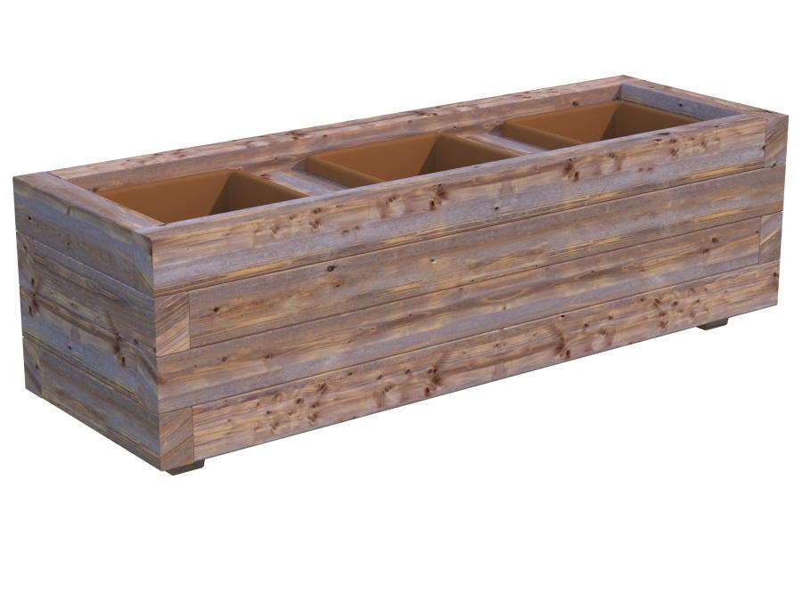 Dřevěný květináč PALMAKO LILI 3
