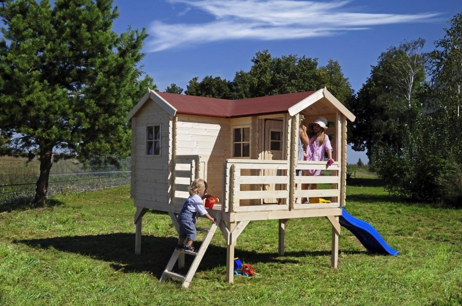 Dětský dřevěný domek M508