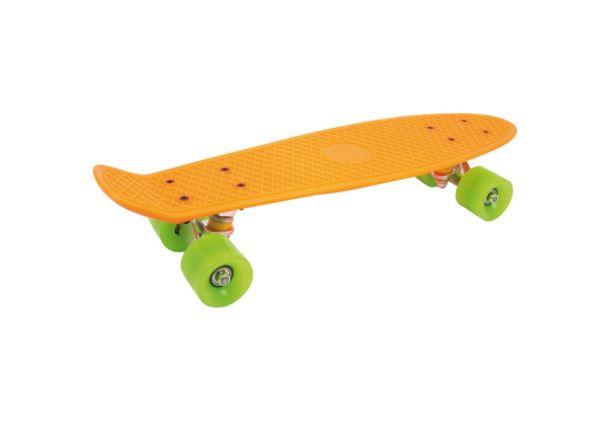 Skateboard Neon oranžový