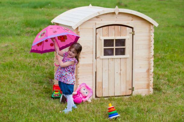 Dětský dřevěný domek M505