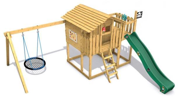 Dětský domeček  Monkey´s Home Chatrč pirát Spike