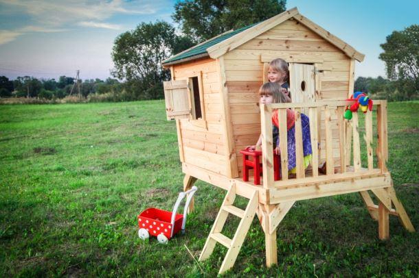 Dětský dřevěný domek M540A