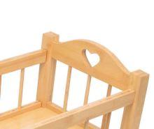 Kolébka dřevěná přírodní