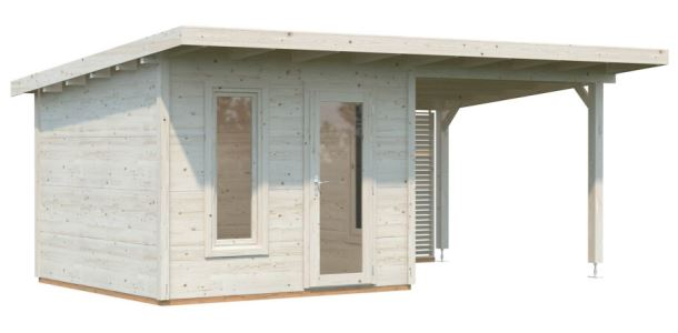 Zahradní domek MODERN LOOK GRACE 8,1+8,1 m2