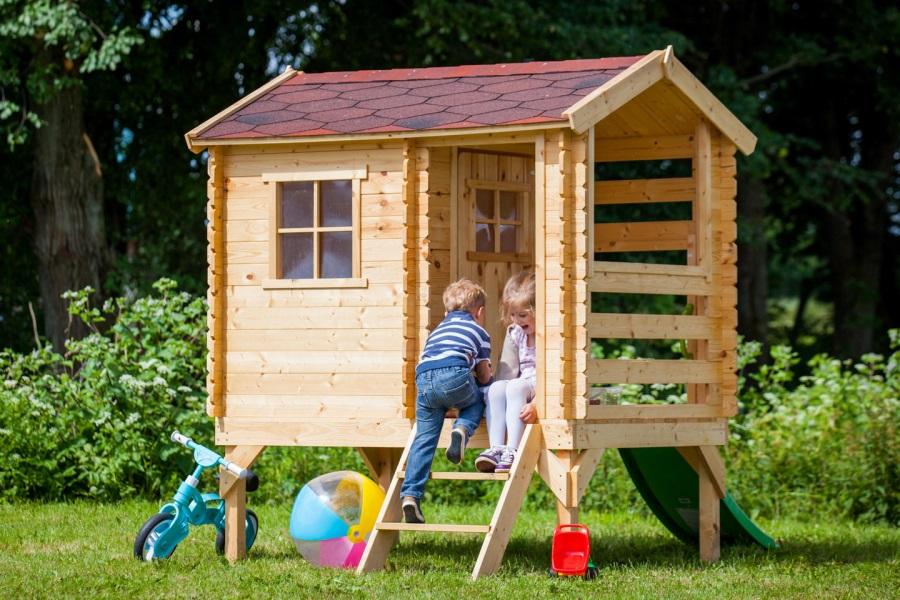 Dětský dřevěný domek M501C