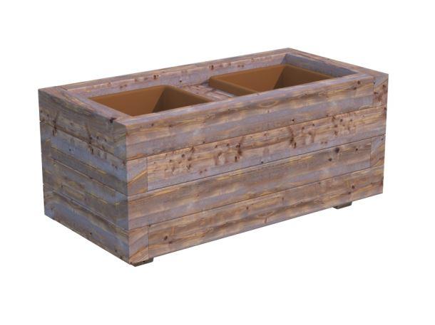 Dřevěný květináč PALMAKO LILI 2