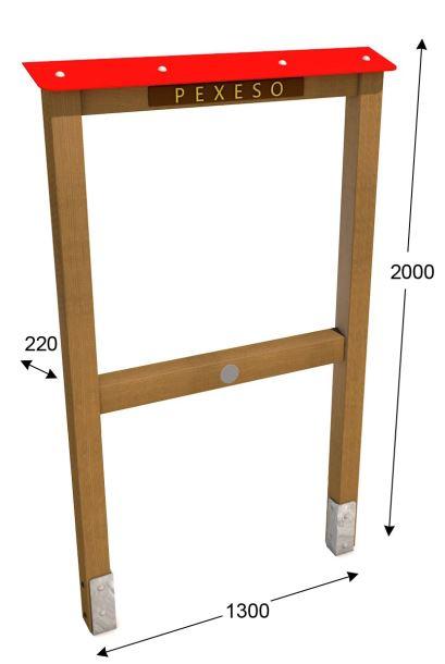 Stojan pro edukační panel 200 - Premium