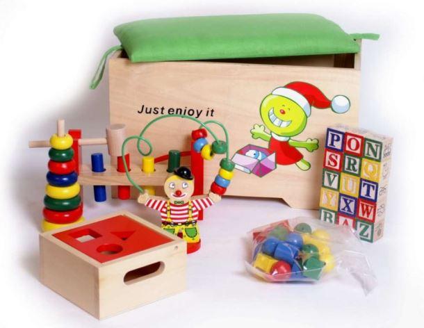 Úložný box s hračky