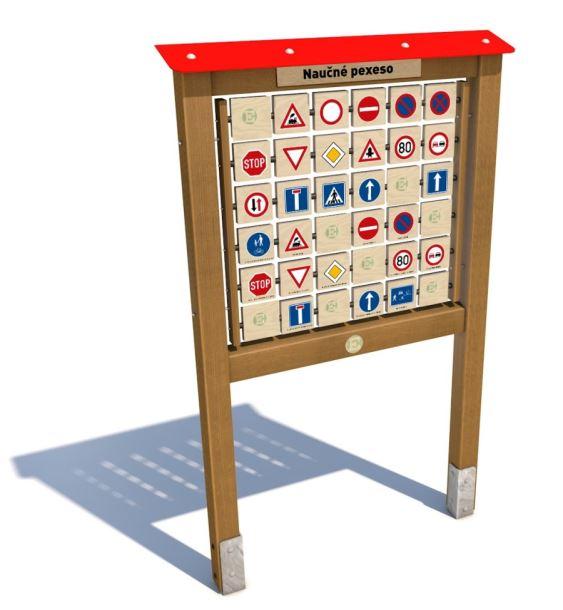 Monkey's Edukační panel I. - Dopravní značky