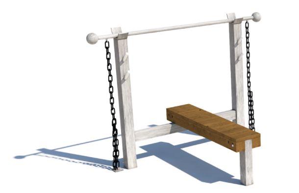 Workoutový prvek - Monkey's Bench lavice