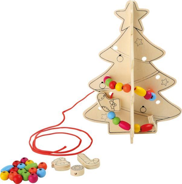 Dřevěný vánoční stromek