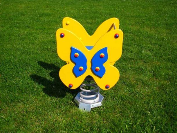 Monkey´s pružinová houpačka motýl