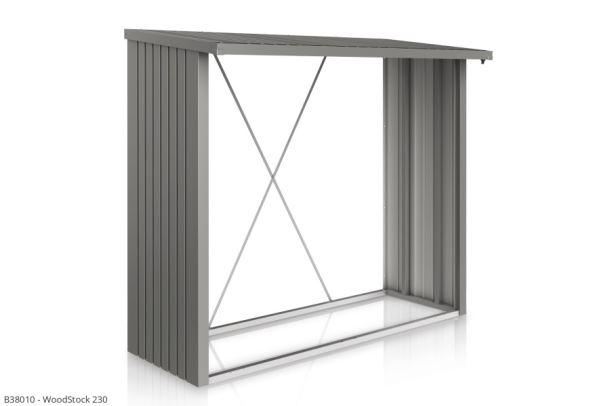 Biohort Přístavek WoodStock® 230, šedý křemen metalíza