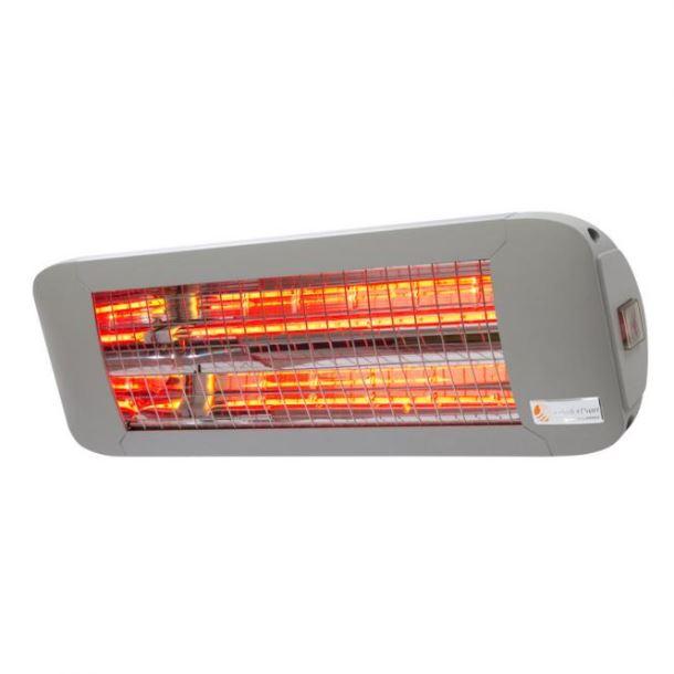 Knoch Infrarot-Technik Infrazářič ComfortSun24 1400W kolébkový vypínač - titan