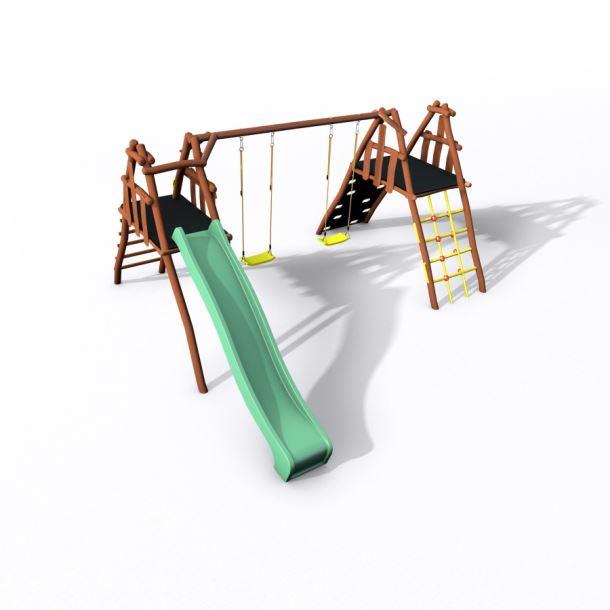 Dětské hřiště Monkey´s Home Honzík 150 B AKÁT