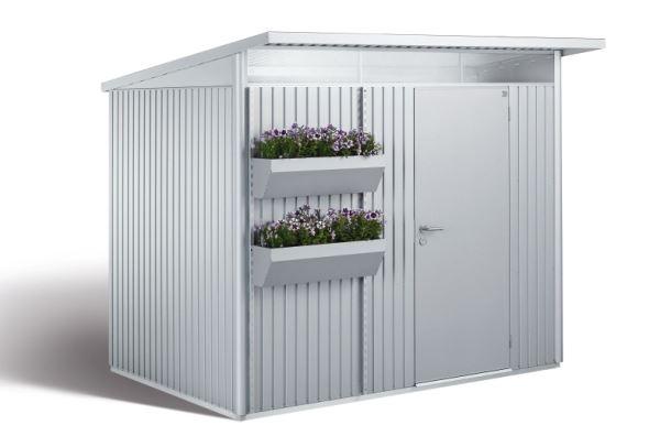 Biohort FloraBoard květinové truhlíky stříbrná metalíza (balení 2ks)