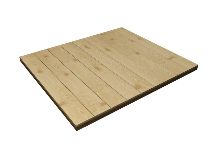 PODLAHA dřevěná k domečku Chaloupka Mini