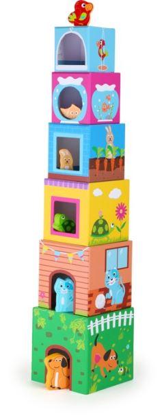 Stavebnice kostky s figurkami