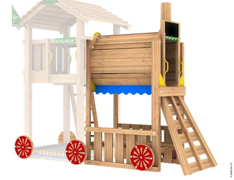 PŘÍSTAVEK K HRACÍ SESTAVĚ Jungle Gym Train Module