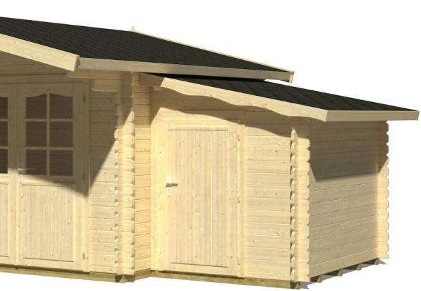 Přístavba ( kůlna 3 stěny) 3,1 m2