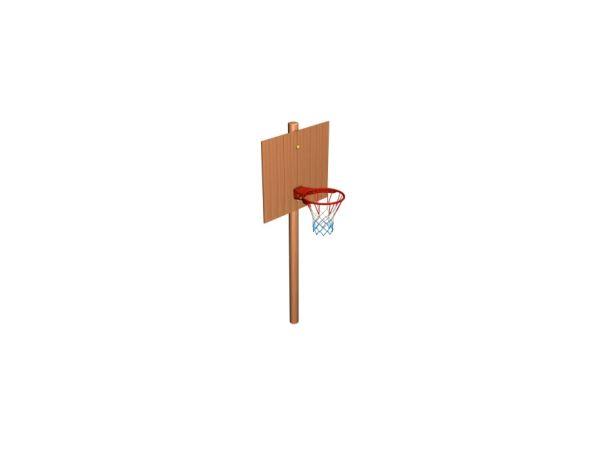 Basketbalový koš z akátu