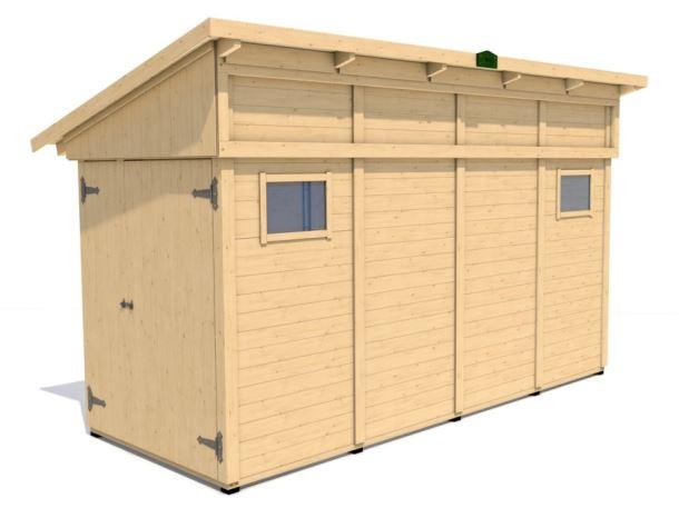 Zahradní domek HEROLD P4417c 6,2 m2