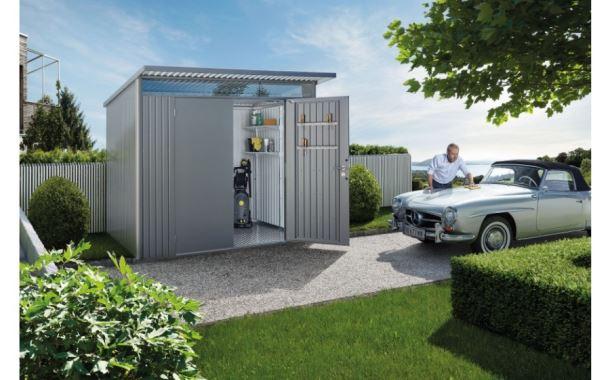 Biohort Zahradní domek AVANTGARDE A2, šedý křemen metalíza