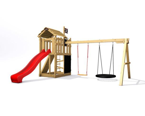Dětské hřiště Monkey´s Home Malý pirát RED