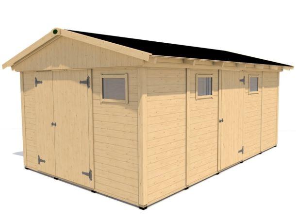 Zahradní domek HEROLD A3355 16,6 m2