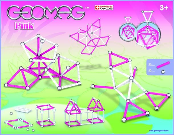 Geomag Kids Color Girl 66ks