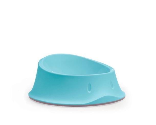 miska CHIC protiskluzová 0,65L modrá