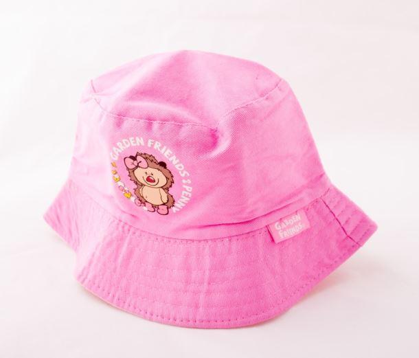 Dětské nářadí KLOBOUČEK bavlněný růžový