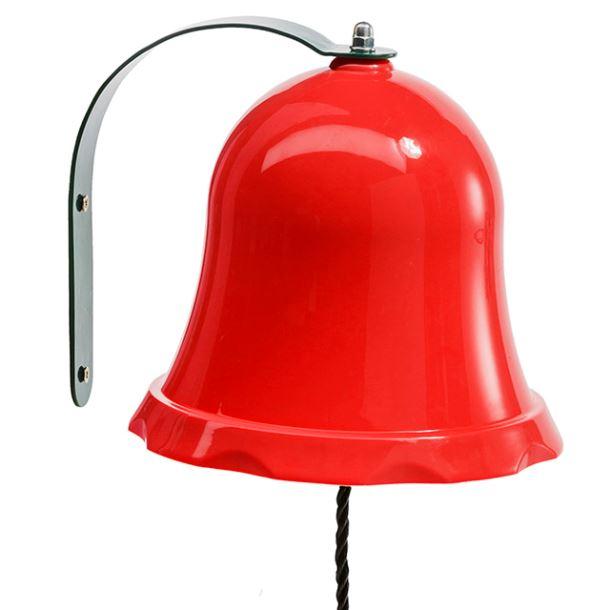 Zvonek ČERVENÝ